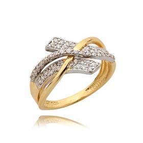 Pierścionek złoty N354p