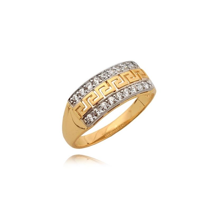 Pierścionek złoty N283P