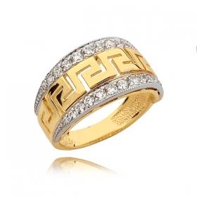 Pierścionek złoty N316p