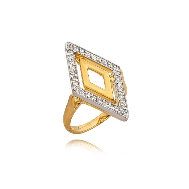 Pierścionek złoty N314p
