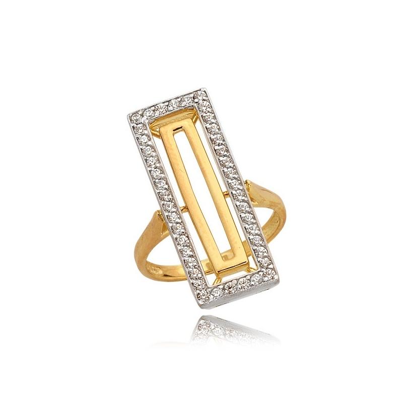 Pierścionek złoty N315p