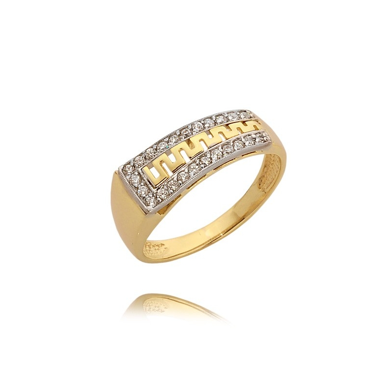 Pierścionek złoty N307p