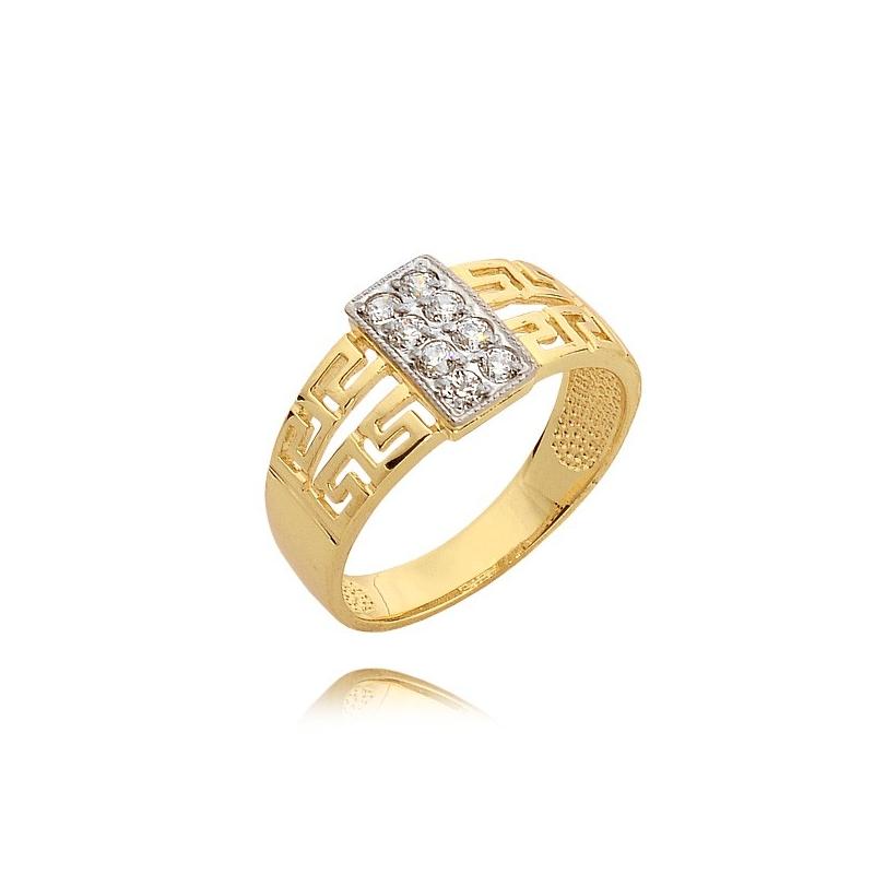 Pierścionek złoty N290p