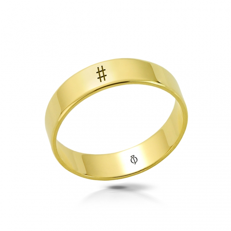 Ring złoty Hash