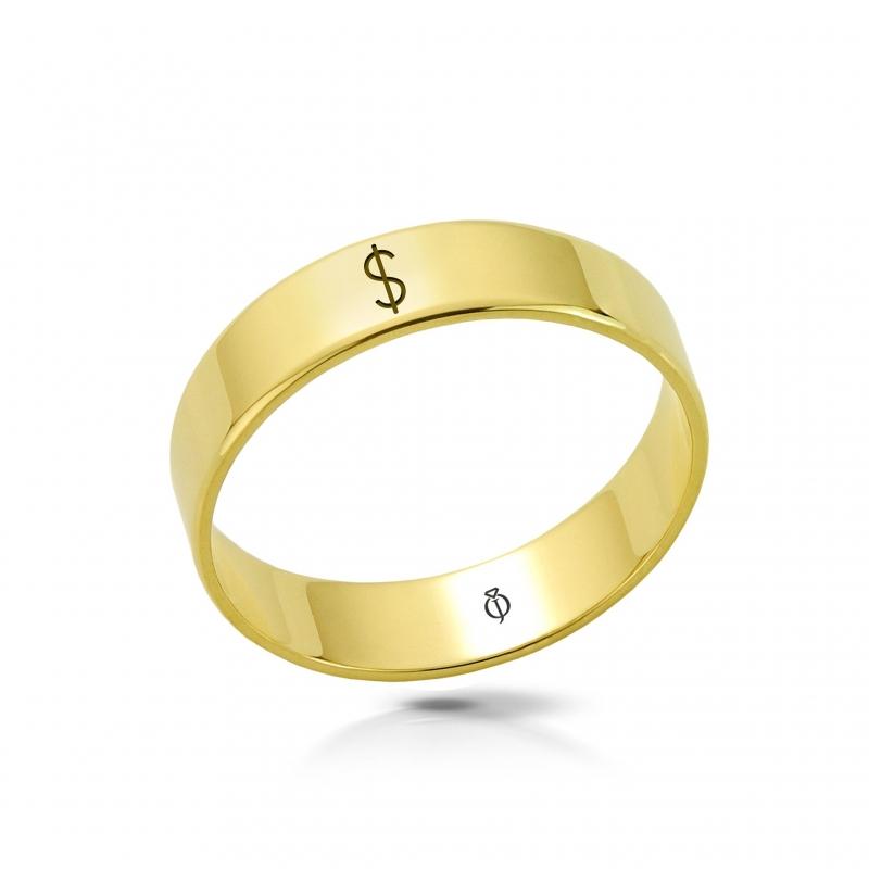 Ring złoty Pieniądze