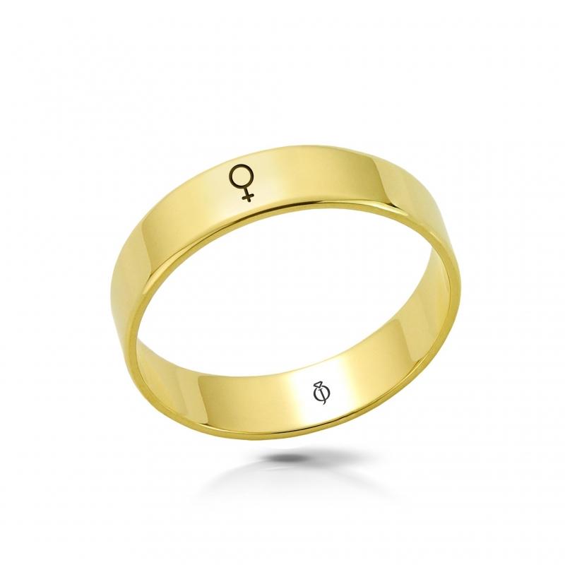 Ring złoty Kobieta