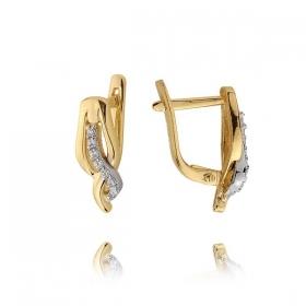Kolczyki złote N385k