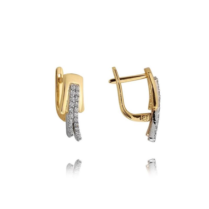 Kolczyki złote N383k