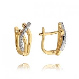 Kolczyki złote N381k
