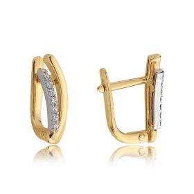 Kolczyki złote N379k