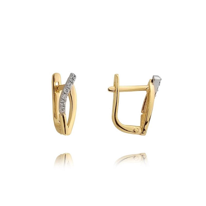 Kolczyki złote N378k