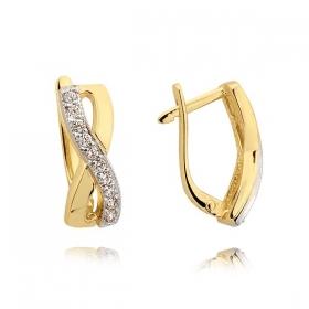 Kolczyki złote N206k