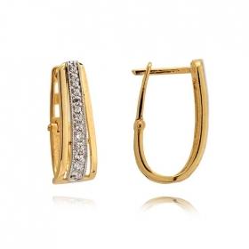 Kolczyki złote N358k