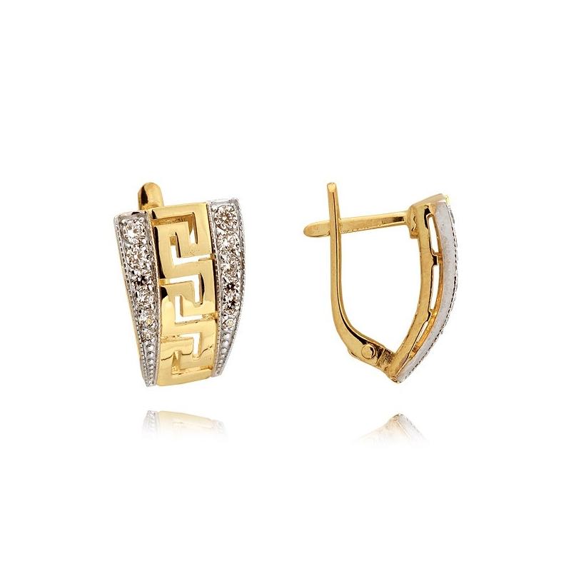 Kolczyki złote N316k