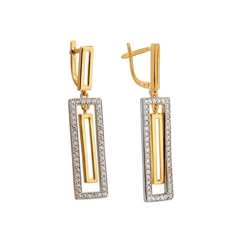 Kolczyki złote N315k