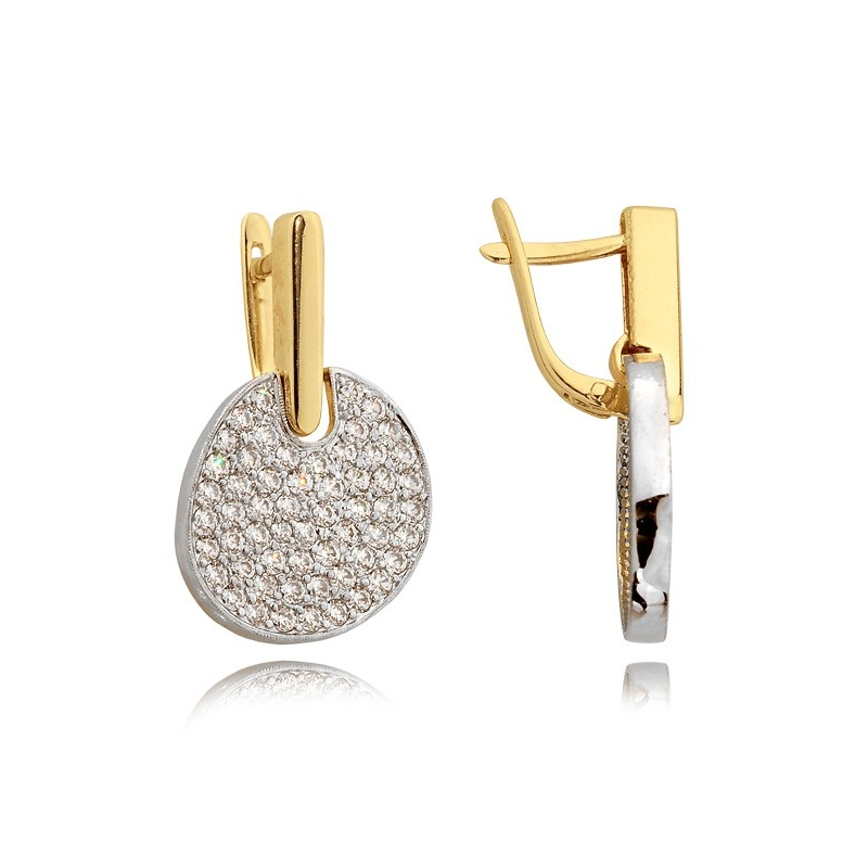 Kolczyki złote N 297k
