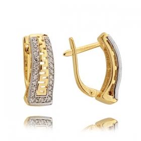 Kolczyki złote N 307k