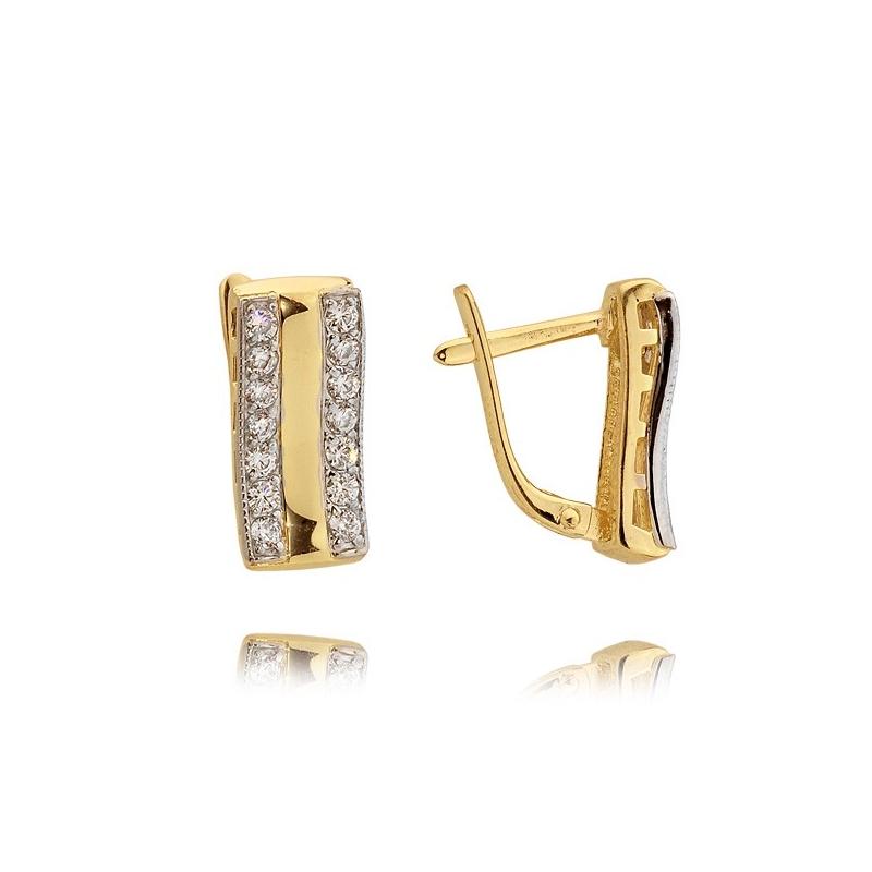 Kolczyki złote N 309k