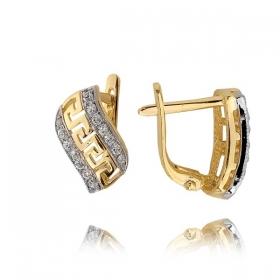Kolczyki złote N 293k