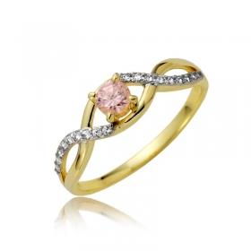 Złoty pierścionek P1869