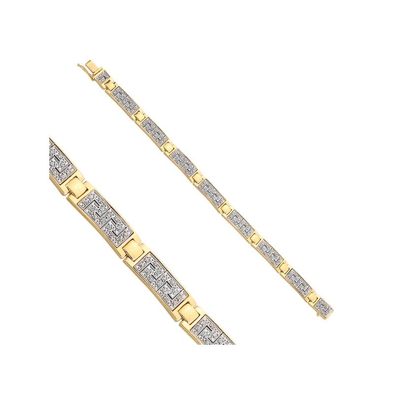 Bransoletka złota B0005