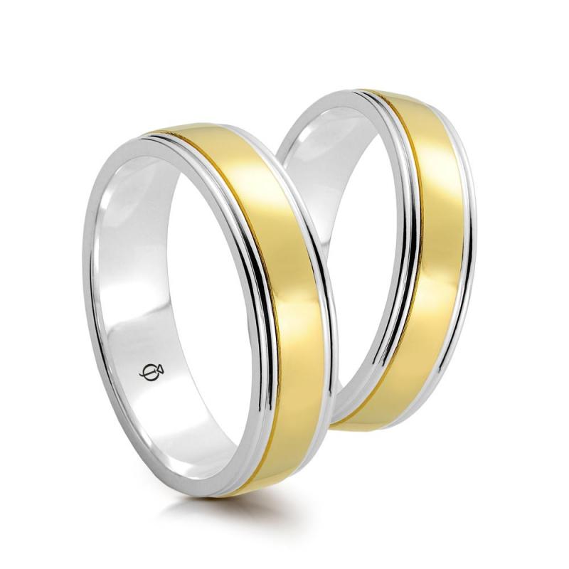 Złote obrączki A5501.1