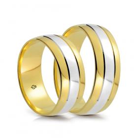 Złote Obrączki B7501.1