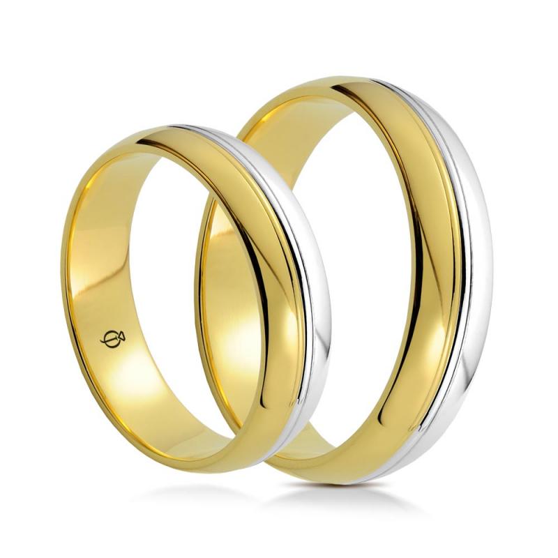 Złote obrączki C5501.1
