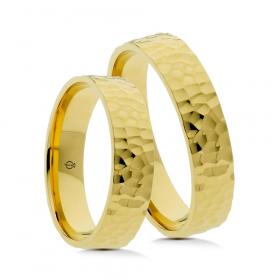 Złote obrączki P5004