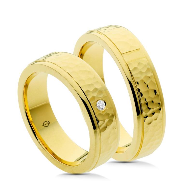 Złote obrączki P5504