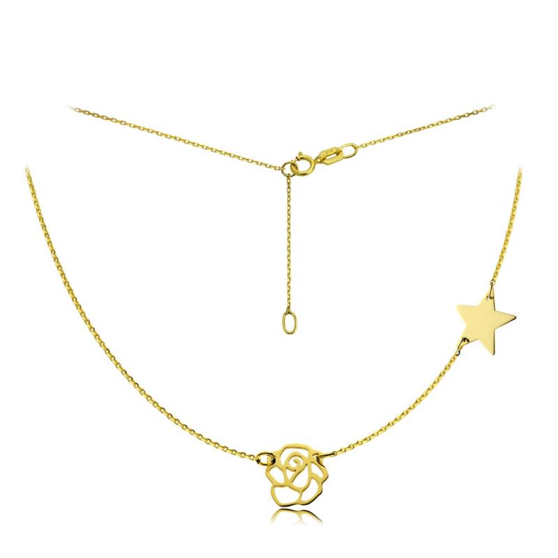 Celebrytka złota Rosse & Star