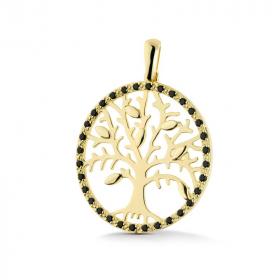 Zawieszka złota - Tree W183