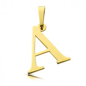 Litera złota A duża