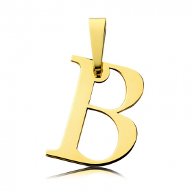 Litera złota B