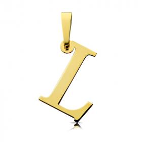 Litera złota L
