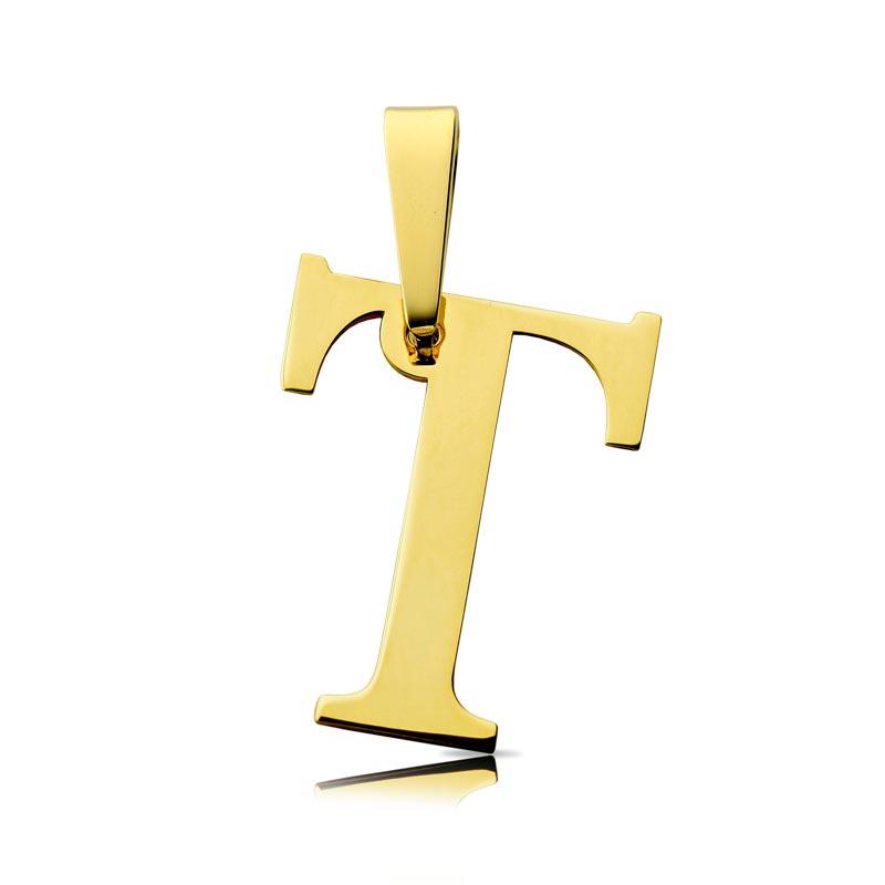 Litera złota T