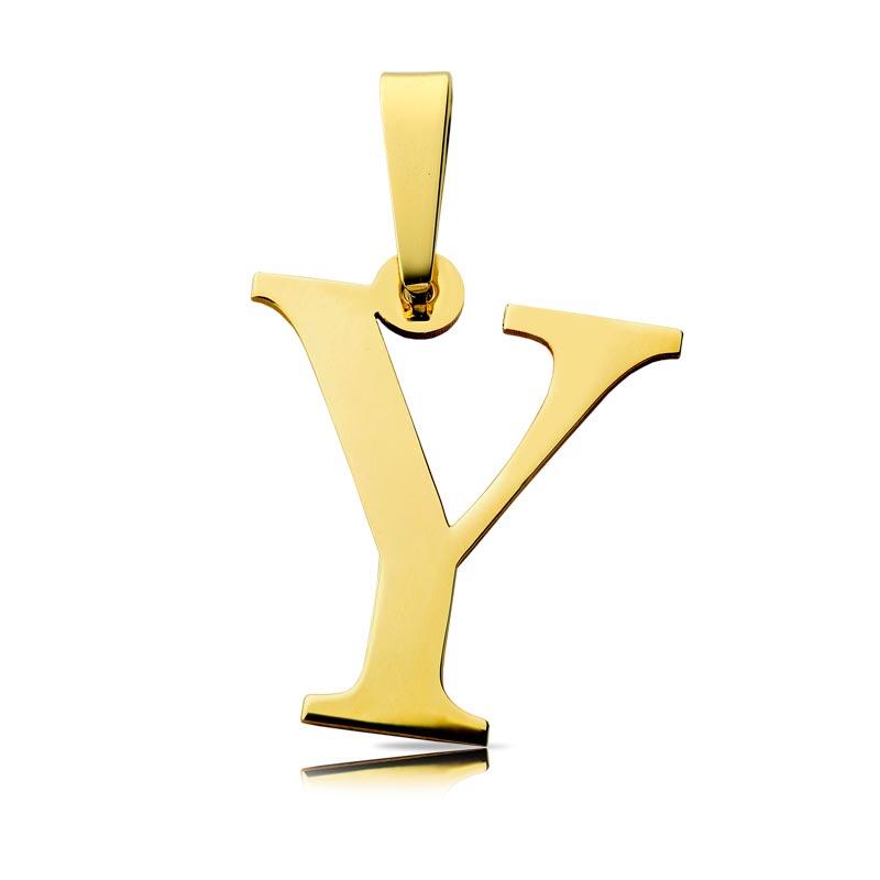 Litera złota Y