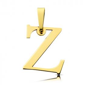 Litera złota Z duża