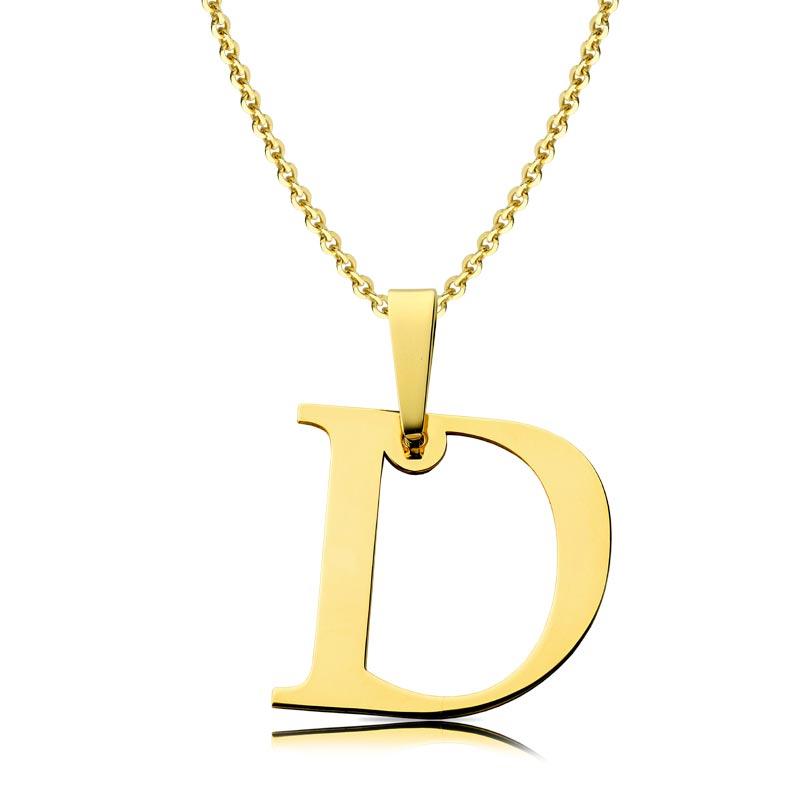 Litera złota D