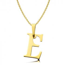 Litera złota E