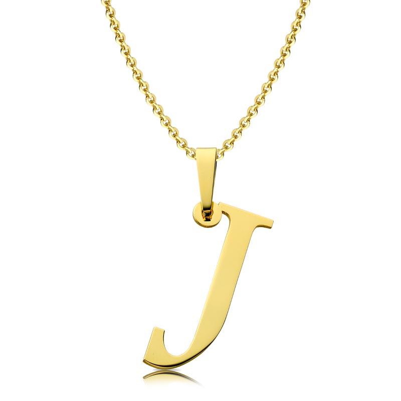 Litera złota J
