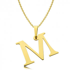 Litera złota M