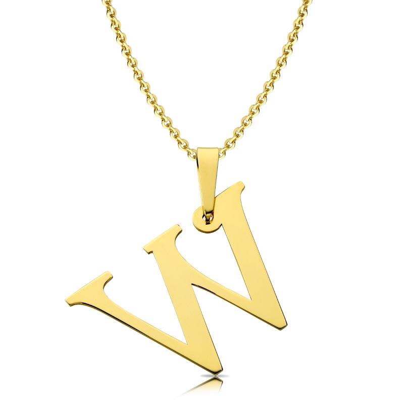 Litera złota W