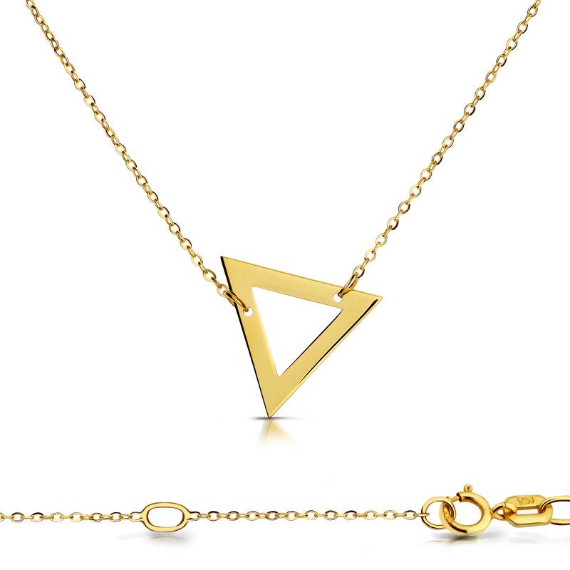 Celebrytka złota - Trójkąt