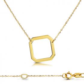 Celebrytka złota - Ośmiokąt C152