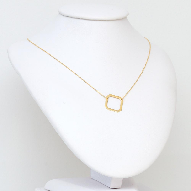 Celebrytka złota - Ośmiokąt