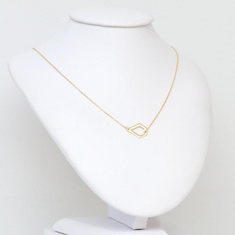 Celebrytka złota - Pięciobok