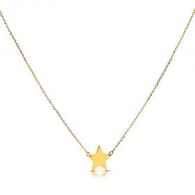 Naszyjnik złoty Gwiazdka