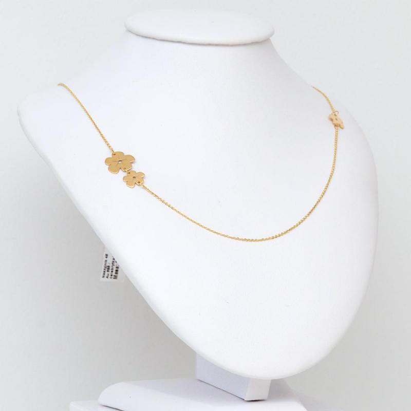 Celebrytka złota - Kwiaty
