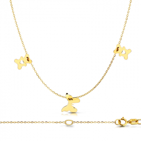 Celebrytka złota Butterfly Gold & Teddy
